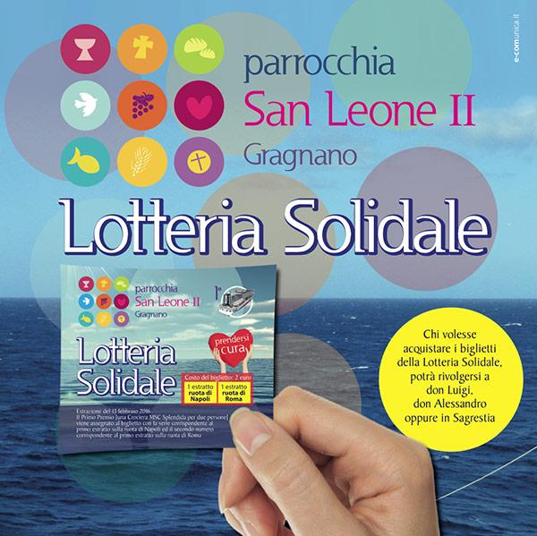 lotteria solidale parrocchia san leone gragnano